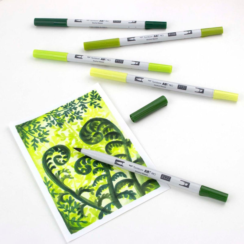 ABT Pro (Alcohol Based) - Verdes (5 und) - Tombow