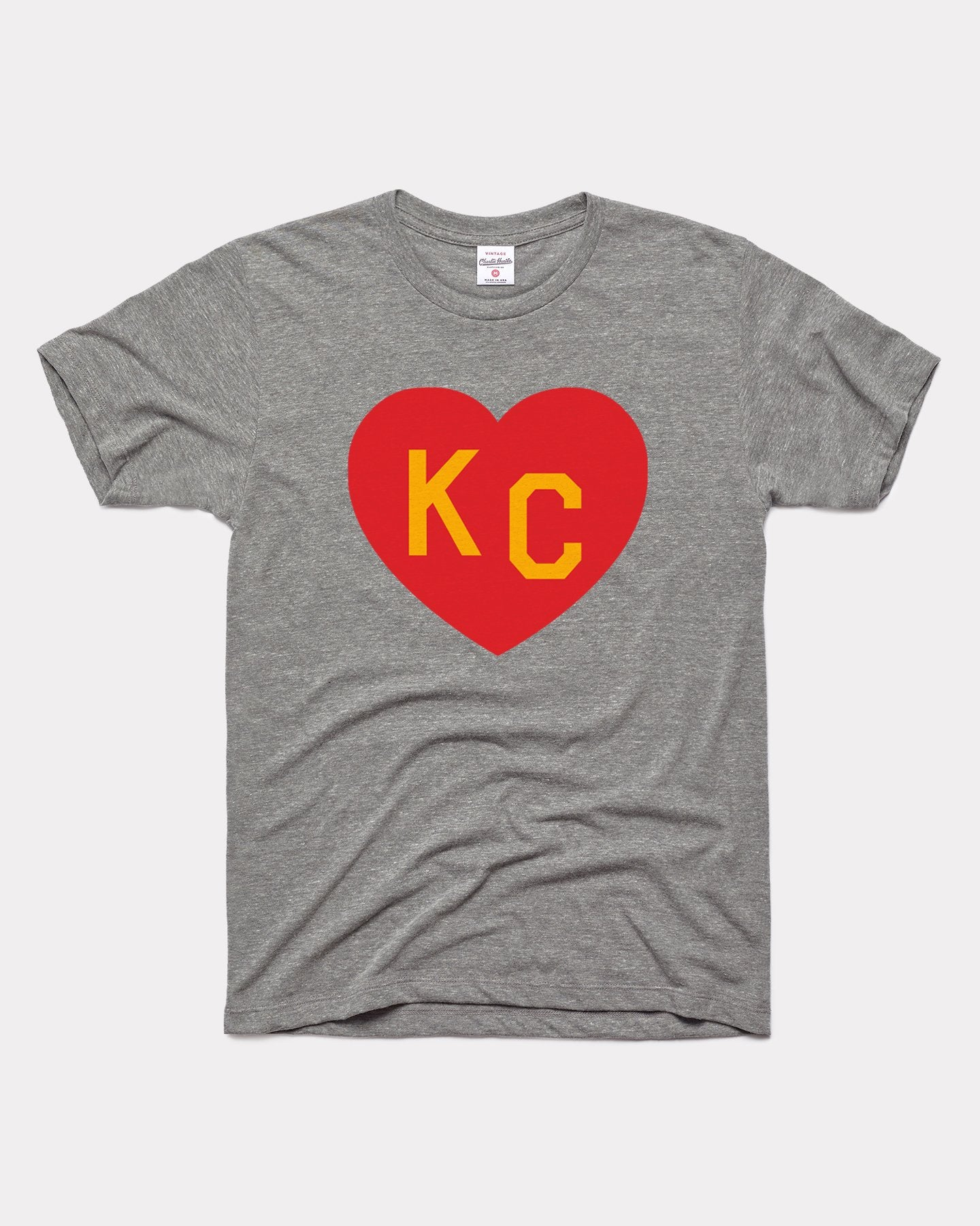Grey Arrowhead Collection KC Heart Vintage T-Shirt