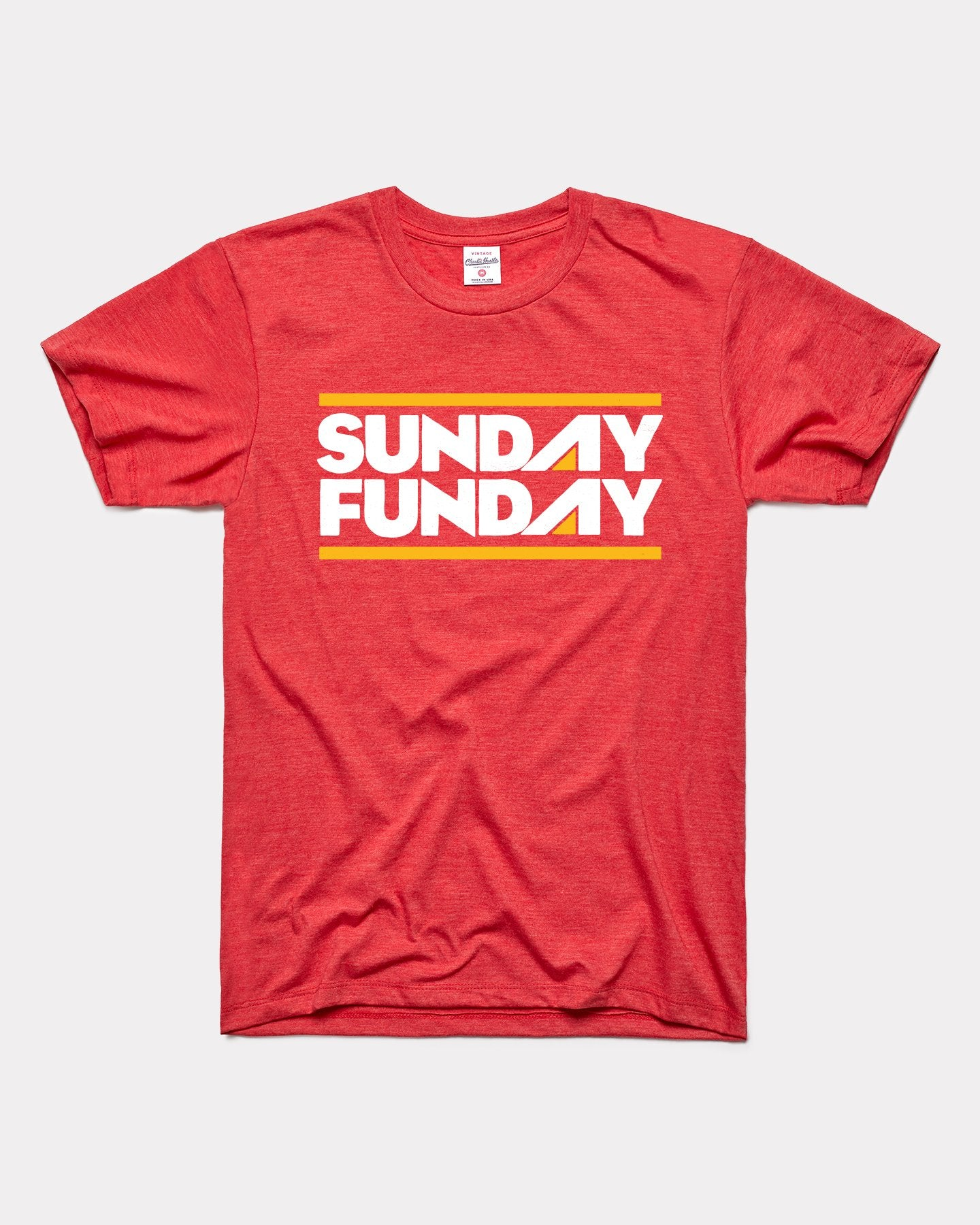 Red Sunday Funday Vintage T-Shirt