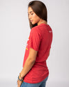 Red Sunday Funday Vintage T-Shirt Side