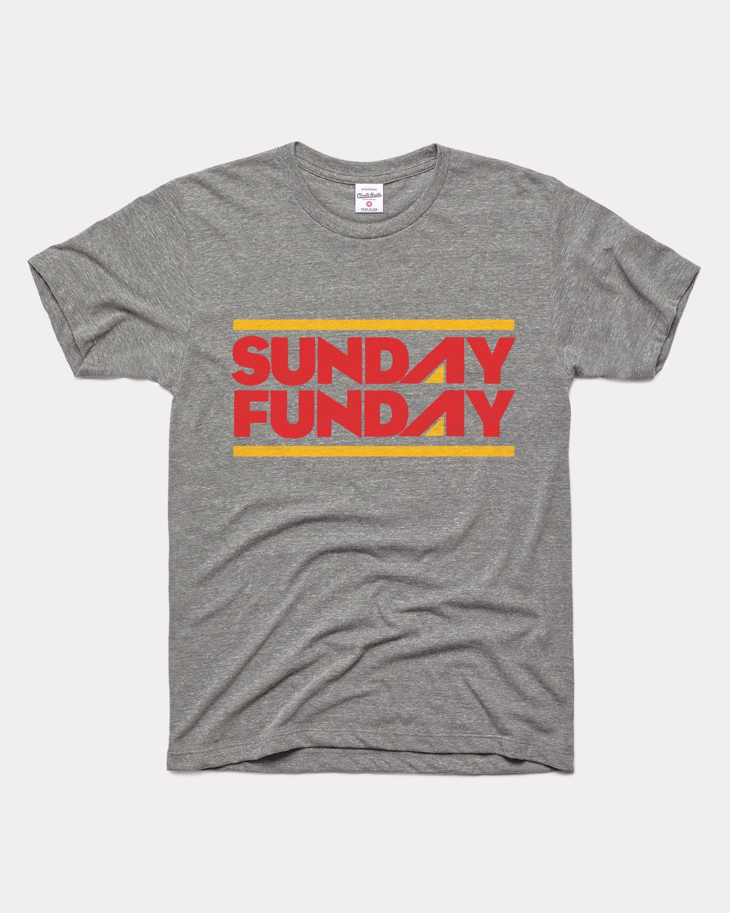 Grey Arrowhead Collection Sunday Funday Vintage T-Shirt