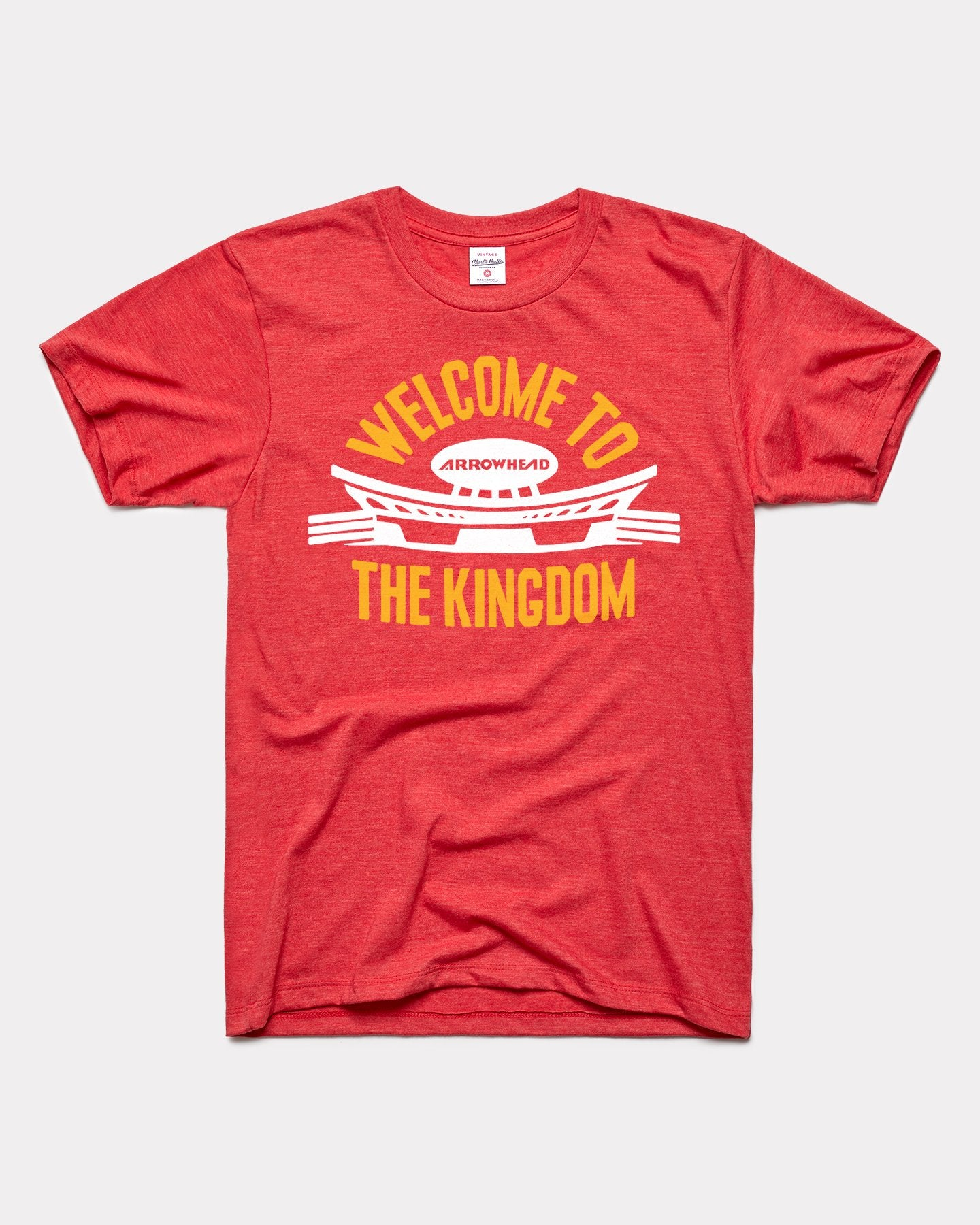 Red Arrowhead Welcome to the Kingdom Vintage T-Shirt