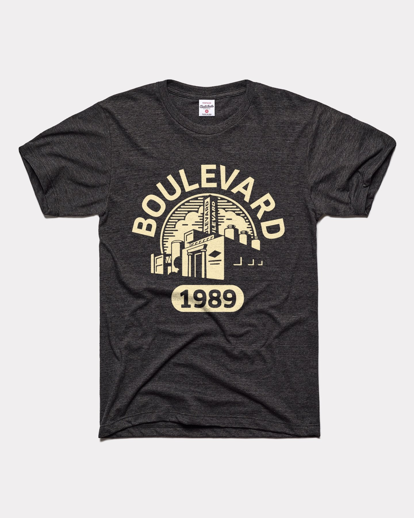 Black Boulevard Brewing 1989 Vintage T-Shirt