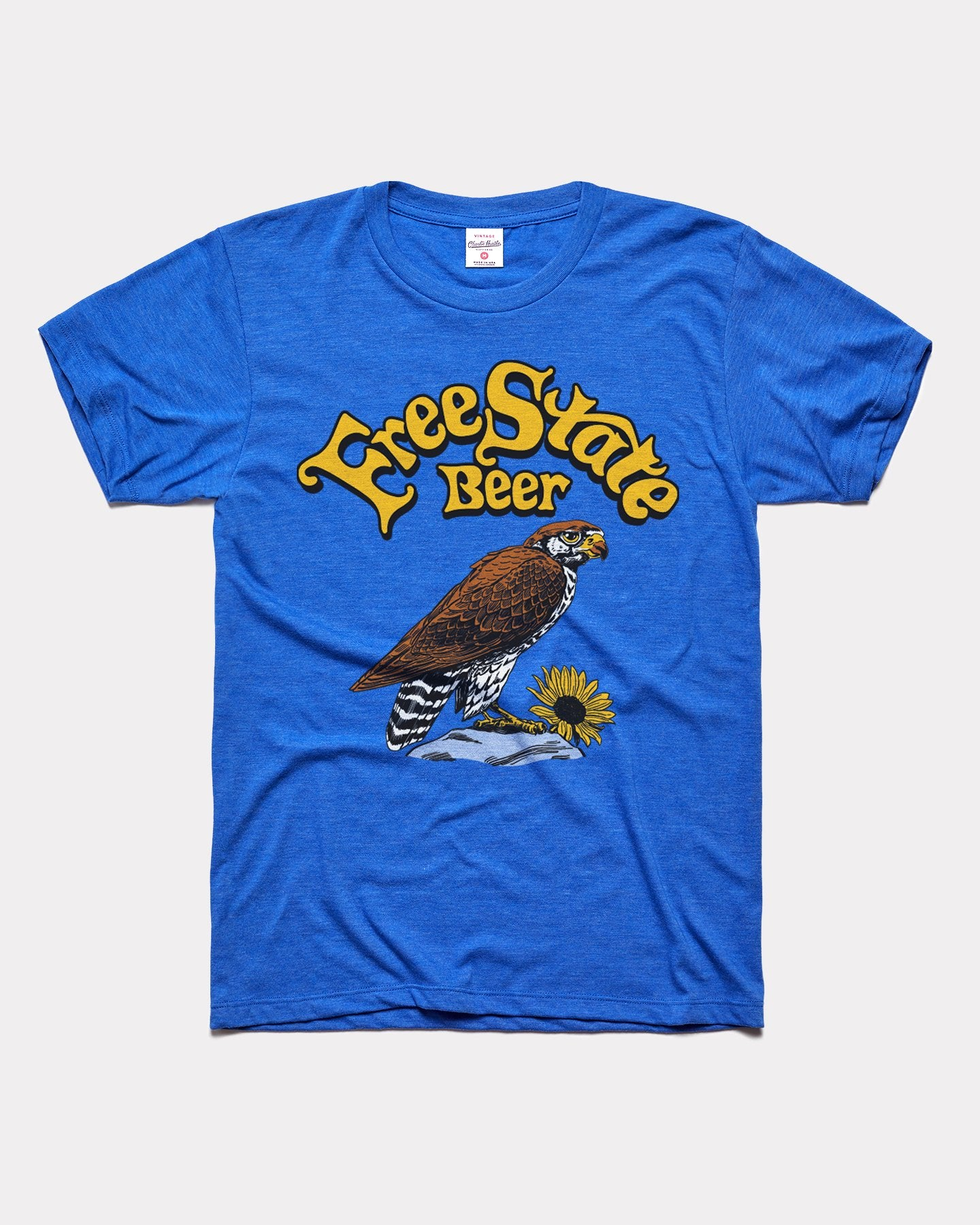 Royal Blue Free State Brewery Beer Vintage T-Shirt