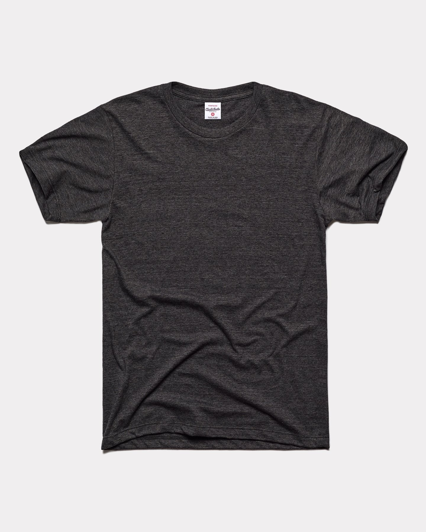 Black Unisex Essentials Collection Vintage T-Shirt