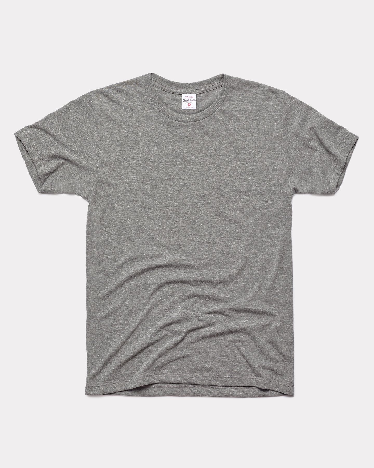 Grey Unisex Essentials Collection Vintage T-Shirt