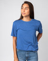 Royal Blue Unisex Essentials Collection Vintage T-Shirt Front