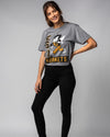 Grey Emporia State University Hornets Vintage T-Shirt Wide