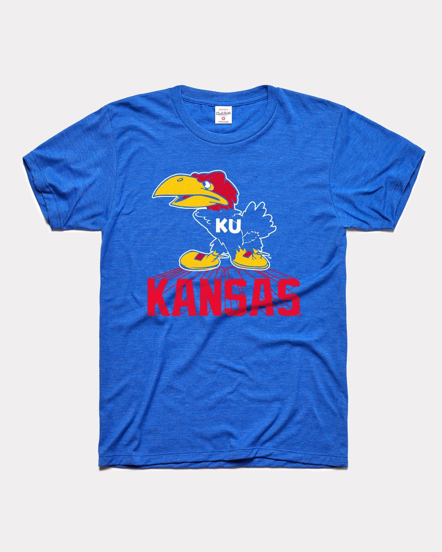 Royal Blue University Of Kansas Jayhawks Legacy Vintage T-Shirt