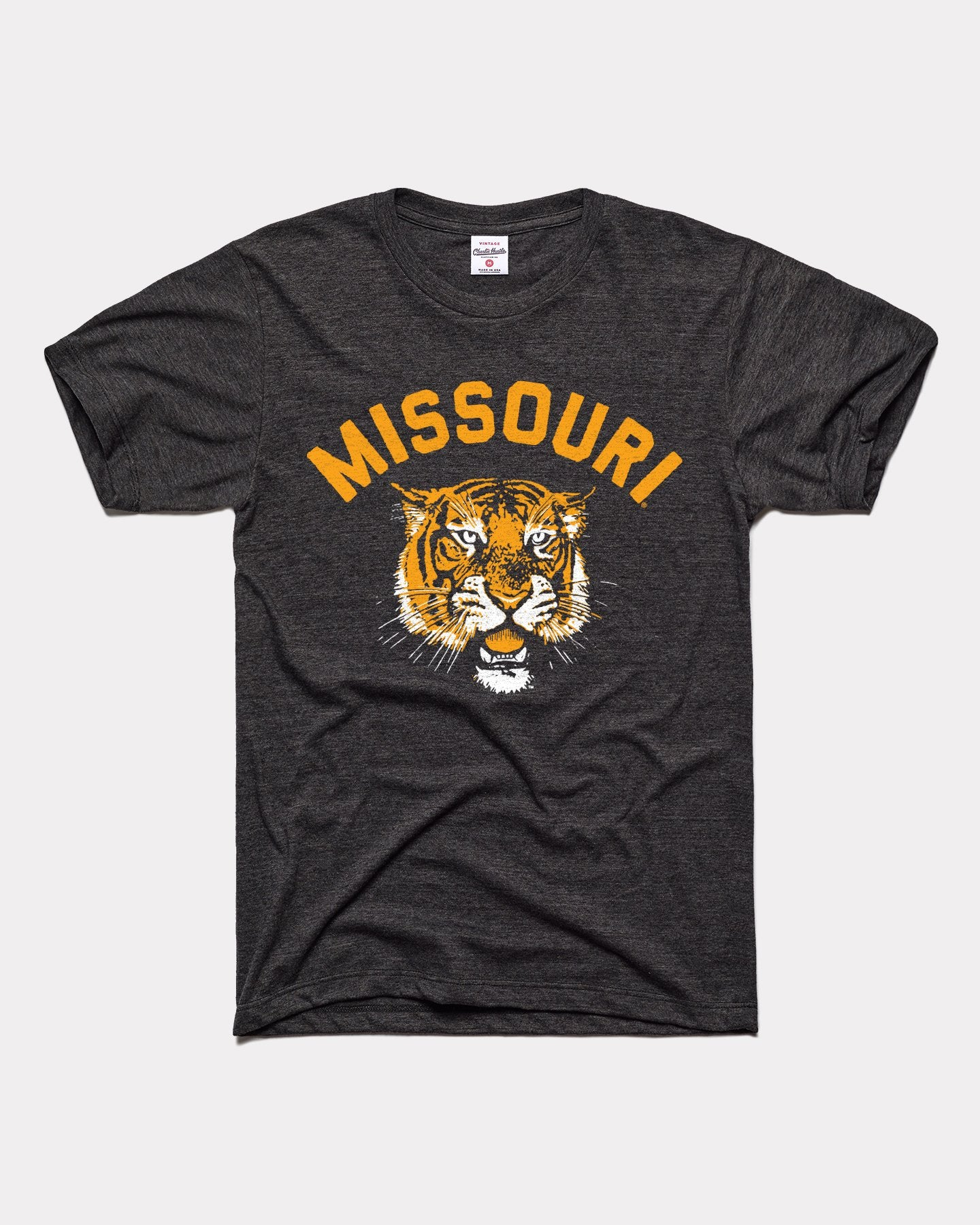Black Missouri Tigers Fight Song Vintage T-Shirt