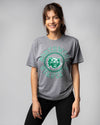 Grey Northwest Missouri State University Bearcats Wheel Vintage T-Shirt Front