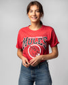 Red University Of Central Missouri Mules Vintage T-Shirt Front
