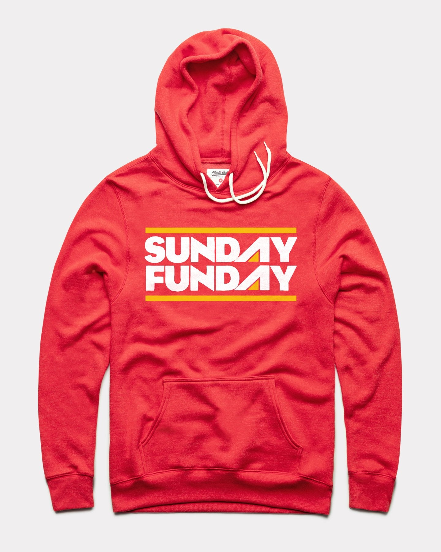 Red Sunday Funday Vintage Arrowhead Hoodie Sweatshirt