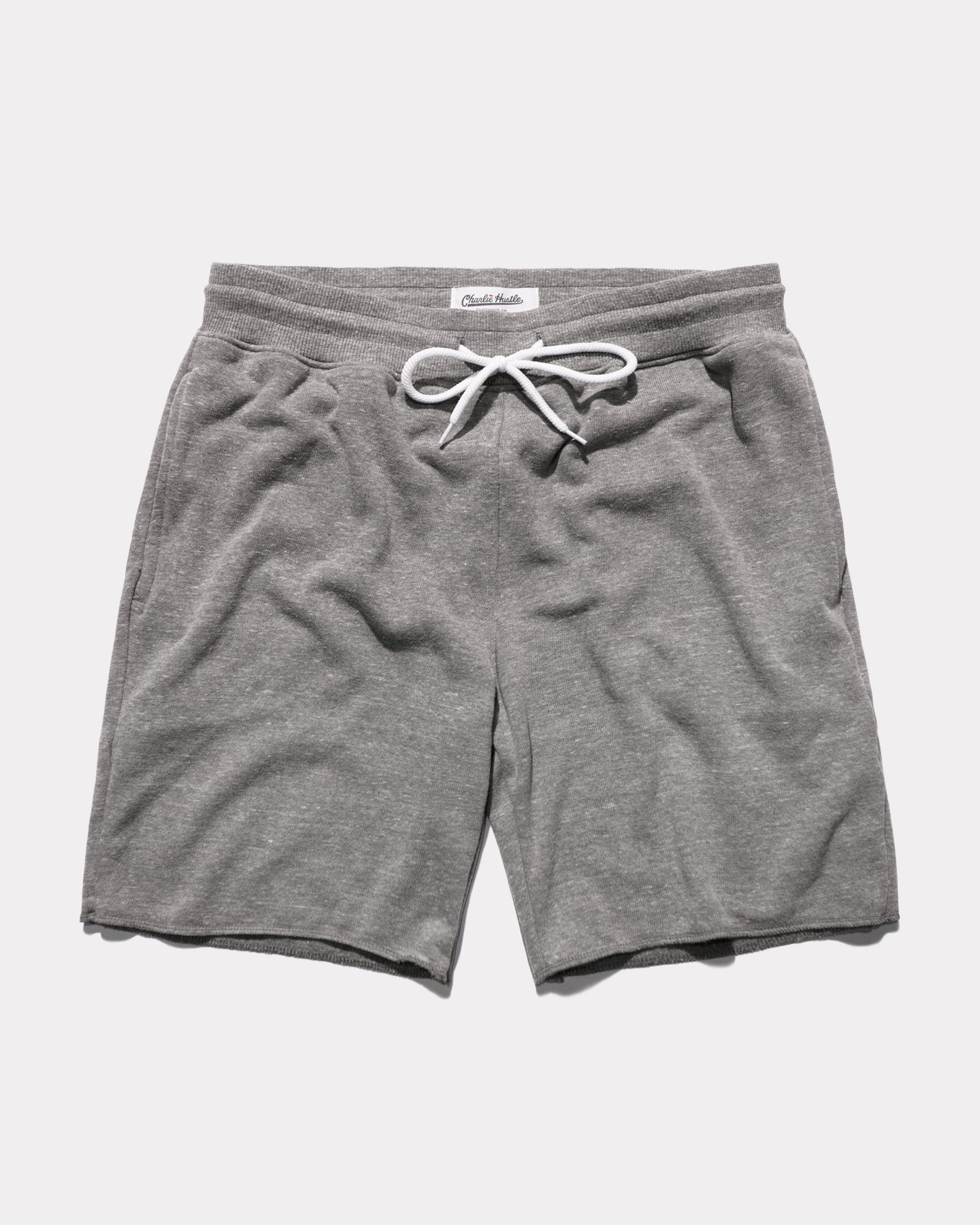 Grey Men's Vintage French Terry Loop Sweat Shorts