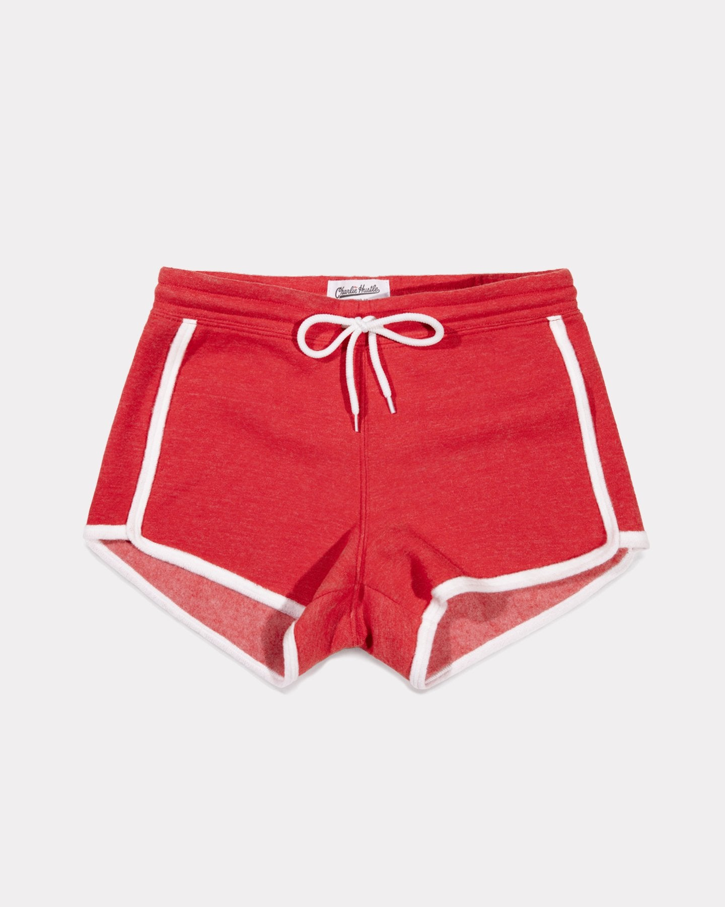 Red Essentials Collection Vintage Women's Loop Terry Shorts