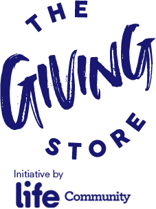 The Giving Store - Logo Blue