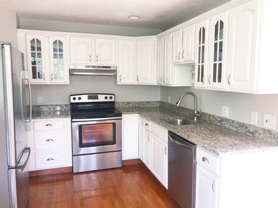Kitchen Cabinet Painting in Natick, Massachusetts