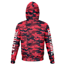 Load image into Gallery viewer, Dethrone Everyone Hoodie Red