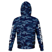 Load image into Gallery viewer, Dethrone Everyone Hoodie Blue