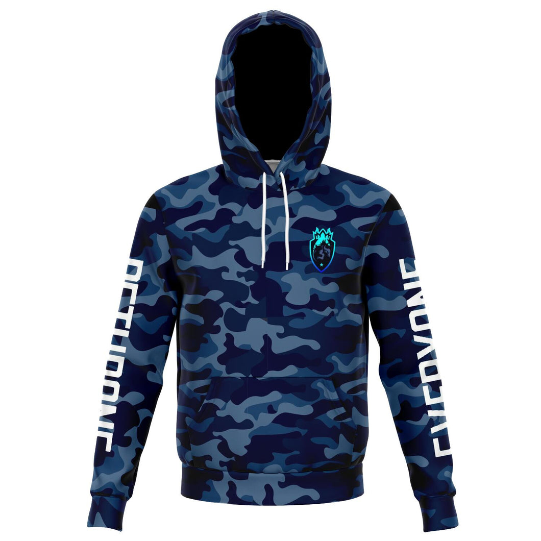 Dethrone Everyone Hoodie Blue