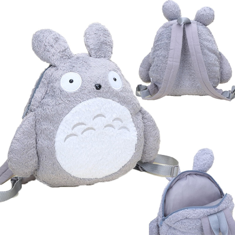 Cute My Neighbor Totoro 12 Inch Soft Plush School Bag Children Backpack