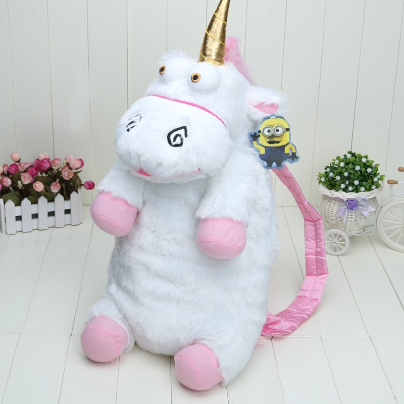 Funny Stupid Unicorns Plush Doll Backpack Toys For Kids
