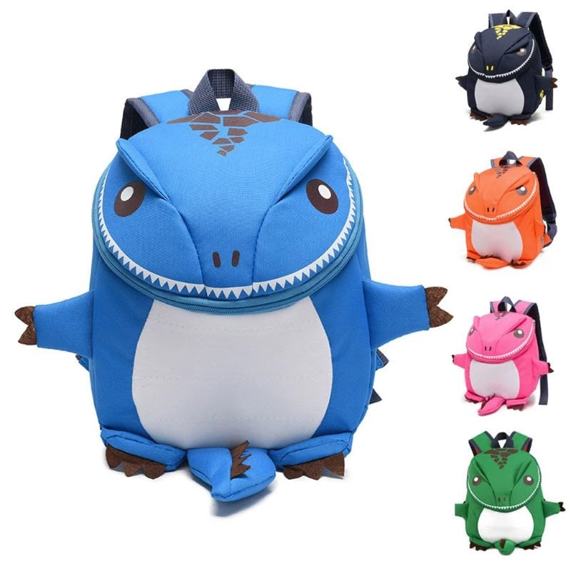 3D Dinosaur Monster Backpack For Kids