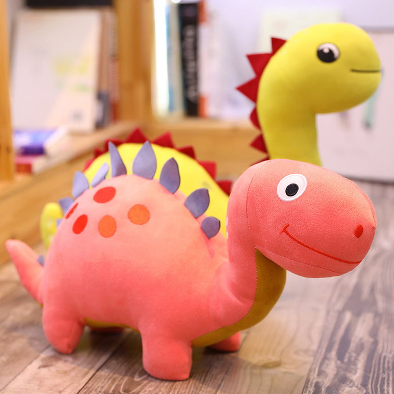 Cartoon Dinosaur Cuddly Plush Stuffed Pillow Dolls for Kids Gifts