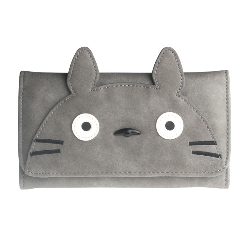 Cartoon My Neighbor Totoro Card Holder Coin Purse Long Wallet