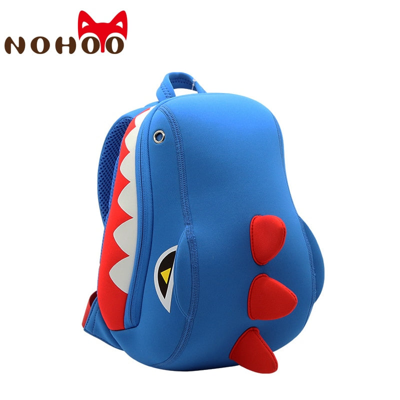Blue Dinosaur Dragon Backpack Chest Bag