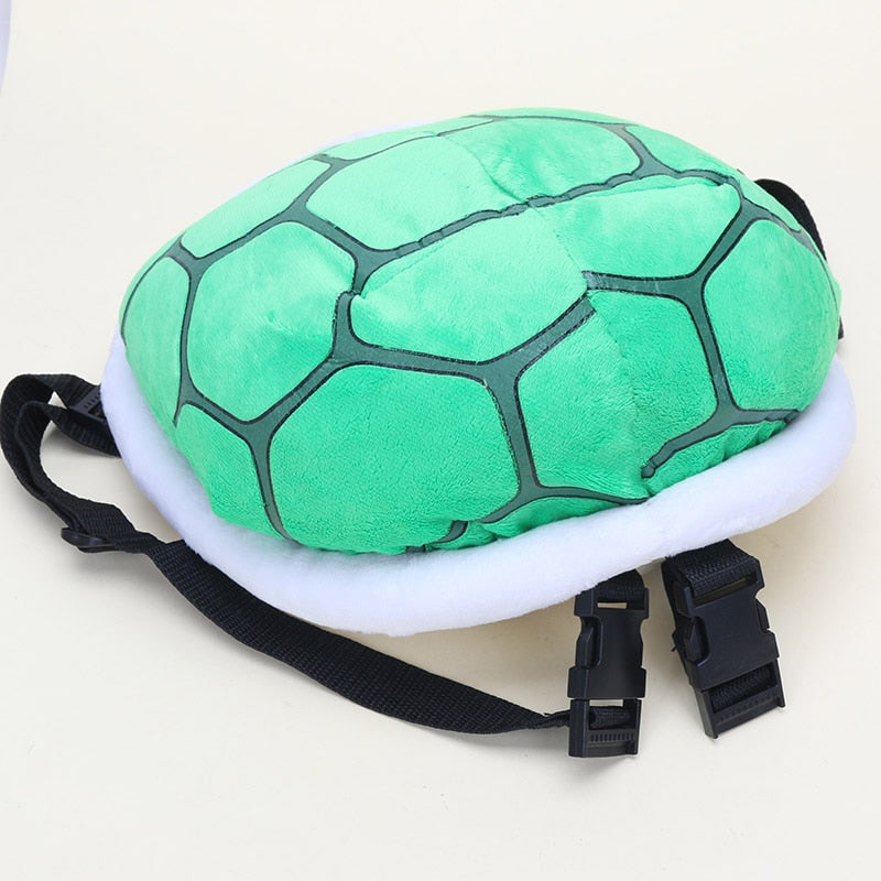 3D Koopa Turtle Shell Plush Backpack for Kids