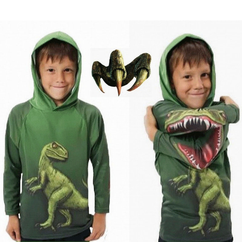 Jurassic Dinosaur Jaw Children Long Sleeve Sweater