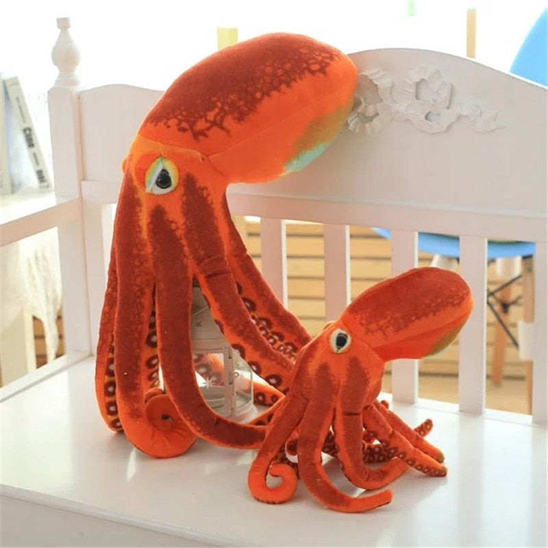 Cute Giant Octopus Plush Stuffed Pillow Doll Gift