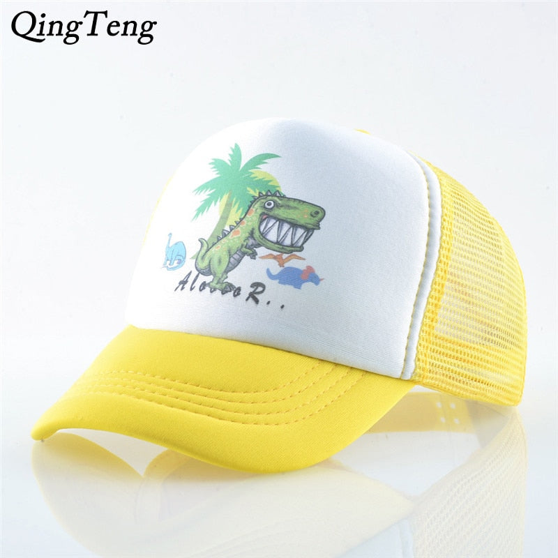 Cute Dinosaur Summer Children Baseball Caps Hat