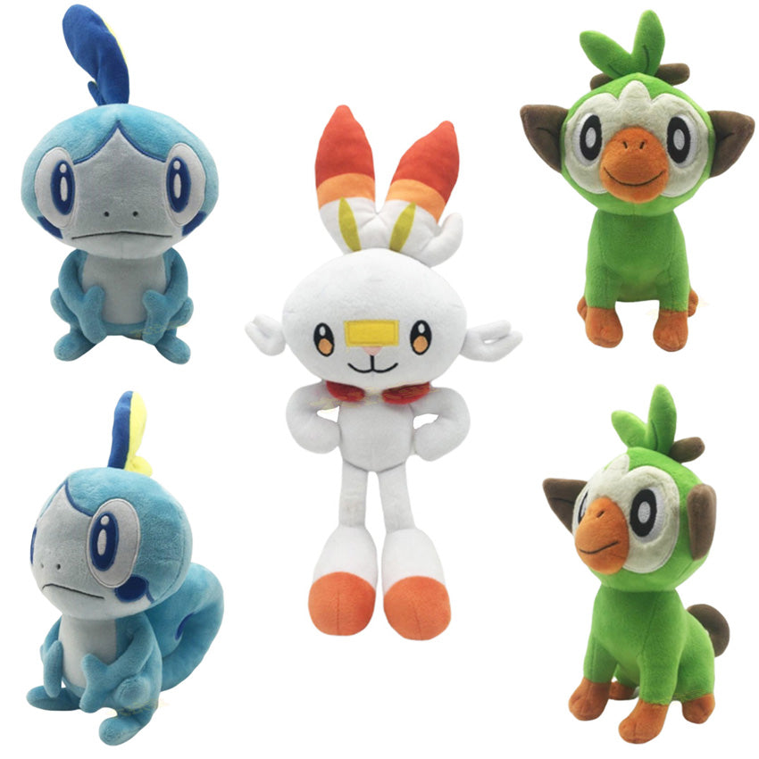 Pokemon Sword & Shield Plush Doll Gifts