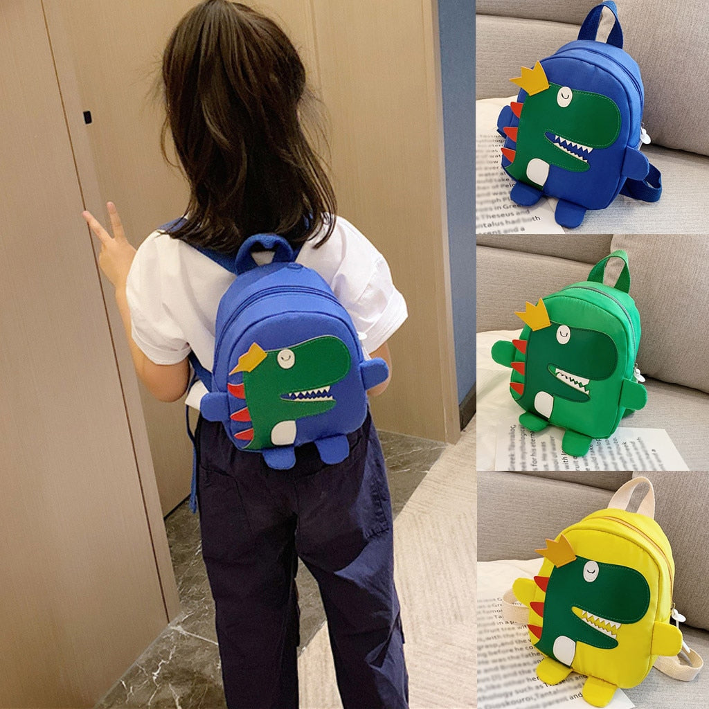 King Dinosaur Mini Backpack School Bag