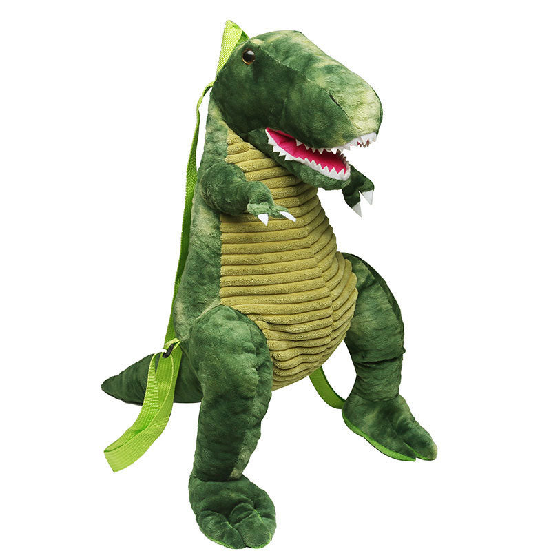 3D Baby Dinosaur Soft Plush Backpack for Children