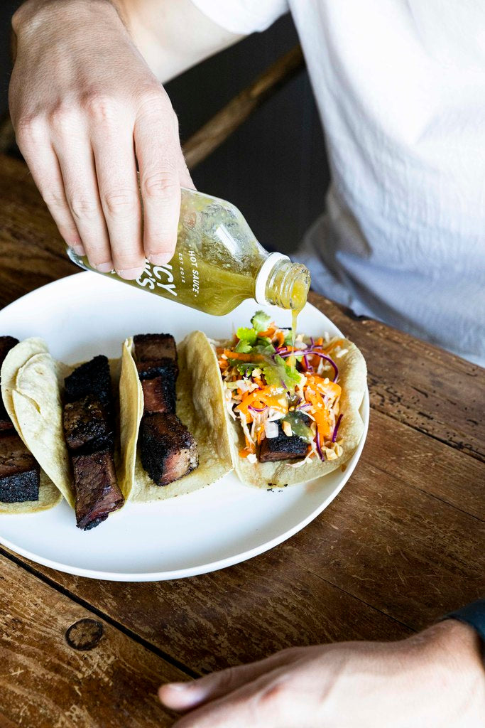 Fancy Hank's Brisket Tacos (gf)