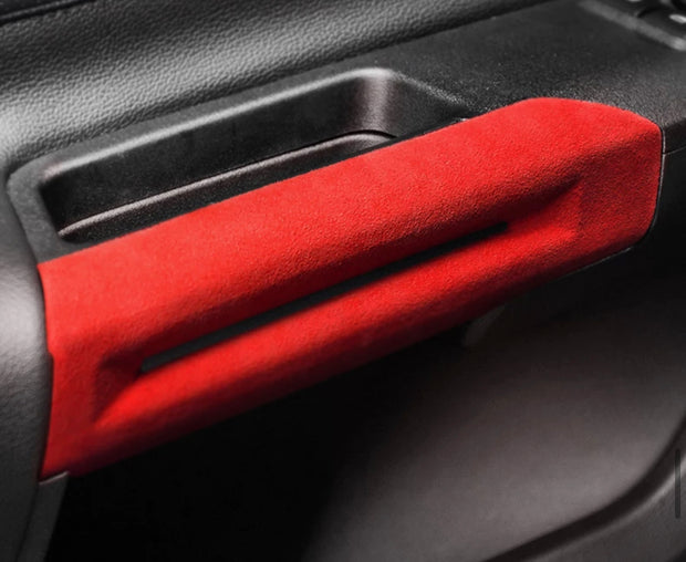 2015-2020 Mustang Alcantara Door Handle Trim