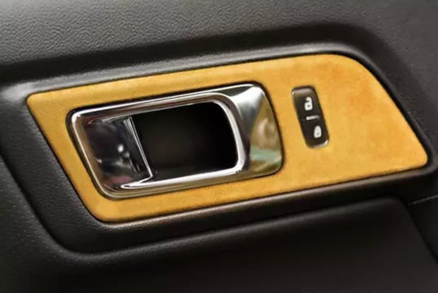 2015-2020 Mustang Alcantara Window Switch Trim