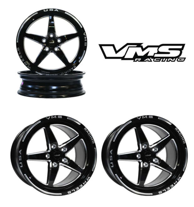 2015-2021 Mustang VMS DRAG RACE V-STAR WHEELS
