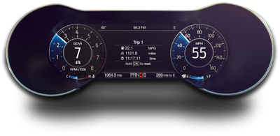 2015-2019 Mustang Digital Cluster Plug & Play