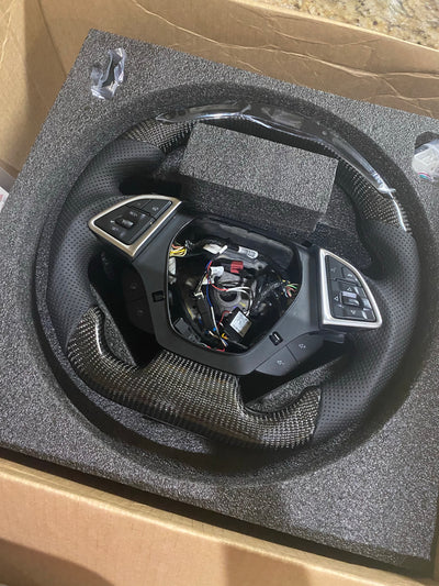 16+ Camaro Carbon Fiber Steering Wheel