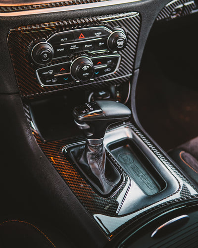 2015-2019 Charger Carbon Fiber Overlay Kit