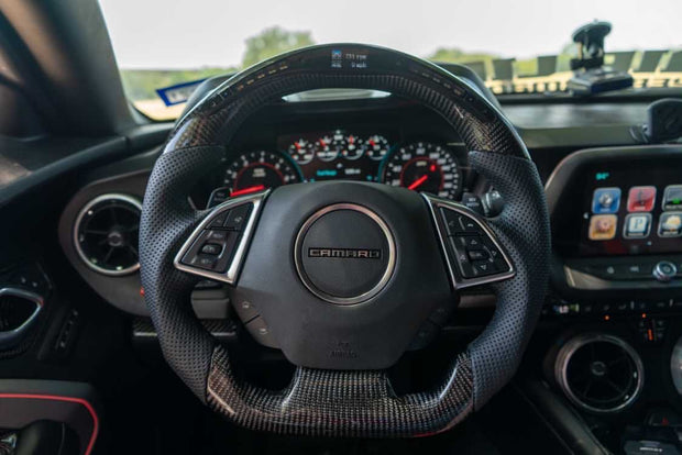 2016+ Camaro Carbon Fiber Steering Wheel