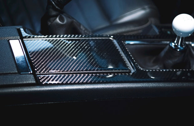 2010-2014 Mustang Carbon Fiber Center Console Trim