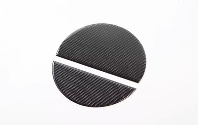 15+ Mustang Fuel Cap 2-Piece Carbon Trim Overlay