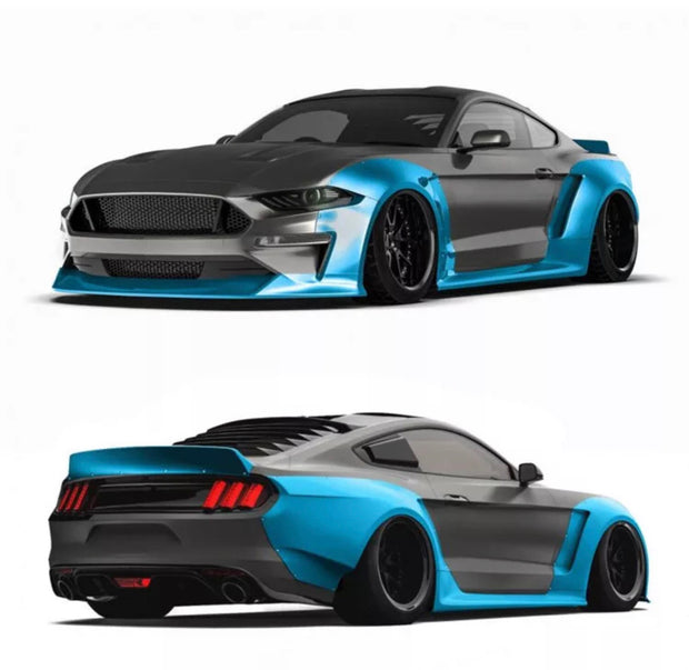 2018+ Mustang Wide Body Kit v1