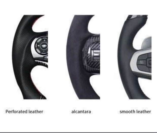 2015-2020 Challenger Carbon Fiber Steering Wheel