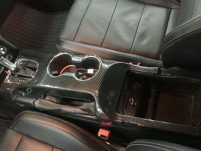 15+ Center Console Carbon Overlay